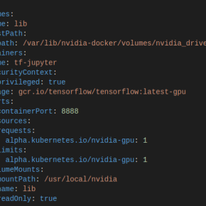 Kubernetes Minikube #3 – Jupyter, Tensorflow with (external)GPU