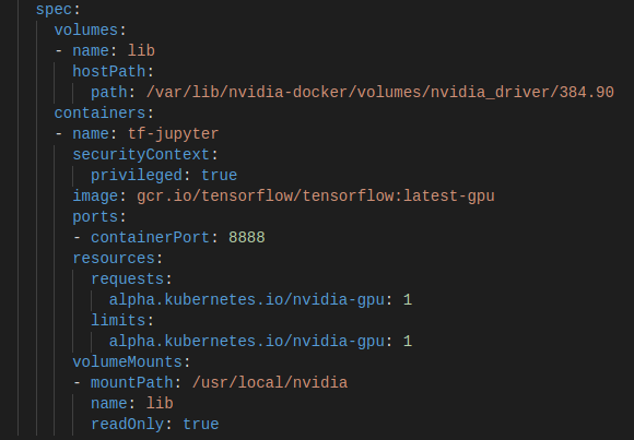 Kubernetes Minikube #3 – Jupyter, Tensorflow with (external) GPU